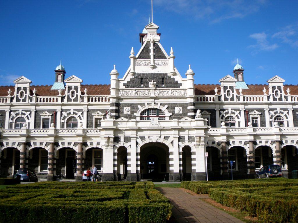 La gare de la ville de Dunedin