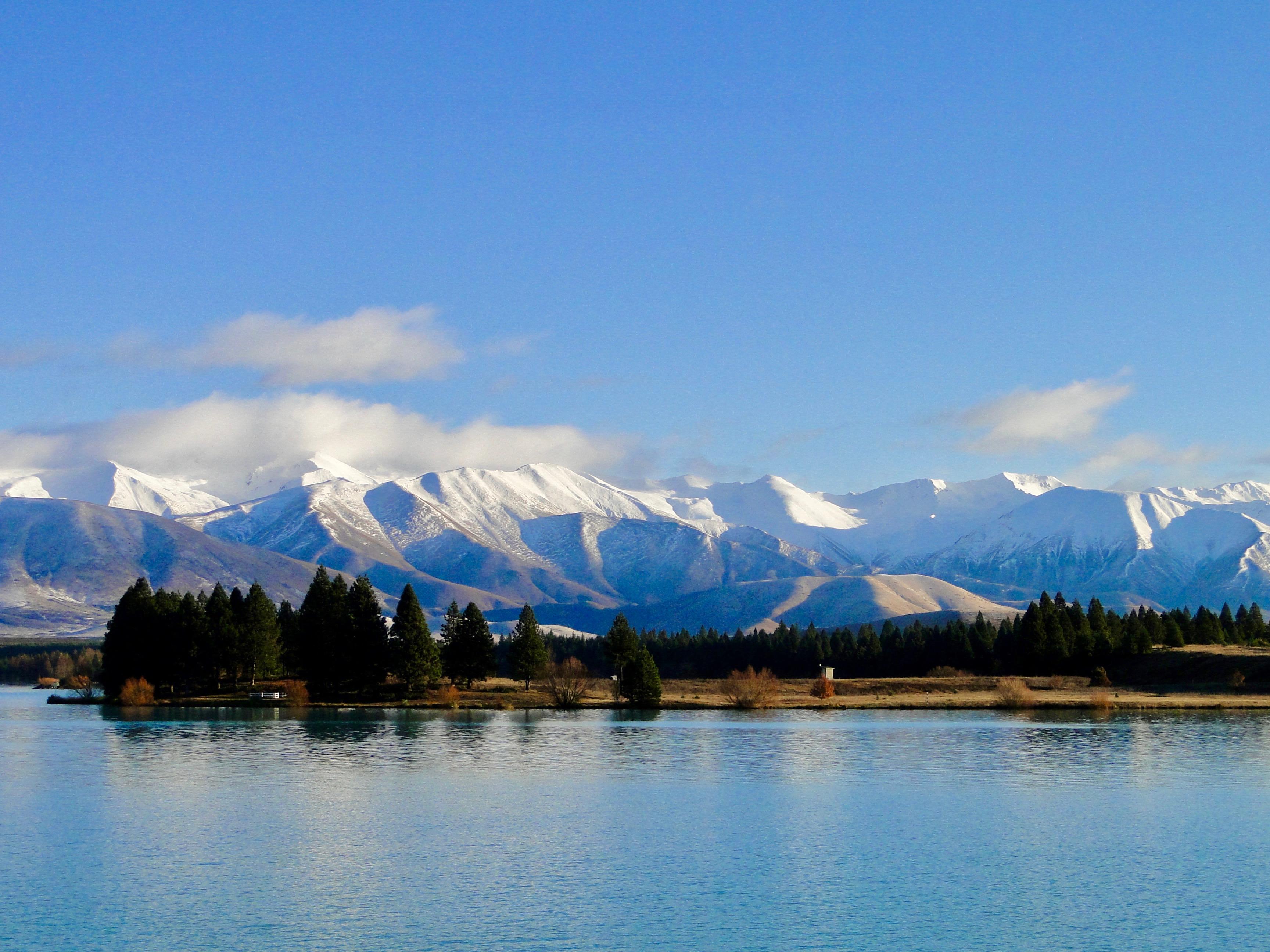 Montagnes Nouvelle-Zélande