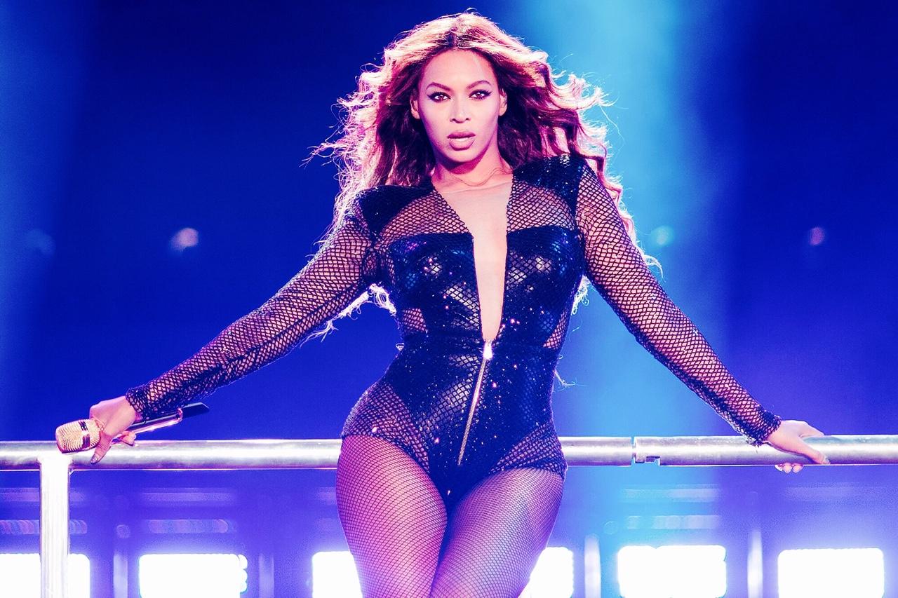 Queen B Beyoncé concert chanson